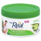 Dermo Real Body Cream, Fresh Hydration, Aloe Vera + Cucumber
