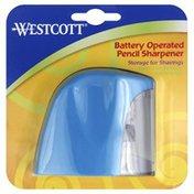 Westcott Pencil Sharpener, Battery Operated