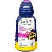 Zarbee's Naturals Children's Sinus & Respiratory Liquid, Geranium & Bioflavonoids, Nighttime