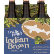 Dogfish Head Dark IPA Indian Brown