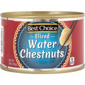 Best Choice Sliced Water Chestnuts