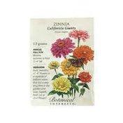 Botanical Interests Zinnia California Giants