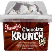 Friendly's Cake Singles, Chocolate Krunch