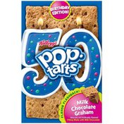 Kellogg's Pop-Tarts Milk Chocolate Graham Birthday Edition! Toaster Pastries