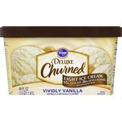 Kroger Ice Cream, Light, Vividly Vanilla