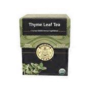 Buddha Teas Thyme Leaf Tea