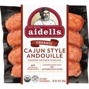 Aidells Smoked Chicken Sausage, Cajun Style Andouille, 10 oz. (4 Fully Cooked L