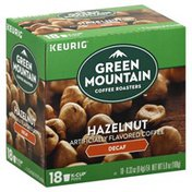 Green Mountain Coffee, Artificially Flavored, Hazelnut, Decaf, K-Cup Pods
