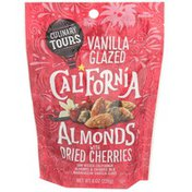 Culinary Tours Vanilla Glazed California Almonds With Dried Cherries