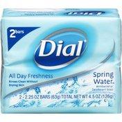 Dial Antibacterial Deodorant Spring Water Soap