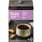Mighty Leaf Organic Coconut Assam Tea Pouches, Black Tea