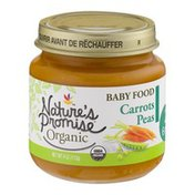Nature's Promise Organic Baby Food Carrots Pea 6m+