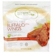 Golden Platter Buffalo Wings, All Natural, Gluten Free, Pouch