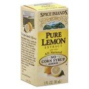 Spice Islands Lemon Extract, Pure
