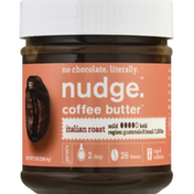 nudge. Coffee Butter, Gluten Free, Italian Roast