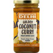Brooklyn Delhi Indian Simmer Sauce, Golden Coconut Curry, Mild