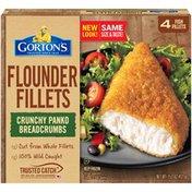Gorton's Crunchy Breaded Flounder Fish Fillets