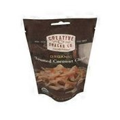 Creative Snacks Co. Organic Toasted Coconut Chips