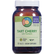 Full Circle Tart Cherry With Turmeric Supports Tissue & Cellular Health Dietary Supplement Vegan Tablets
