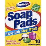 PowerHouse Soap Pads, Heavy Duty