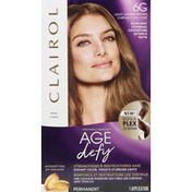 Clairol Permanent Hair Color, Light Golden Brown 6G