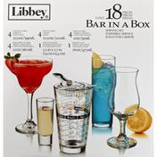 Libbey Serving Set, Bar in a Box