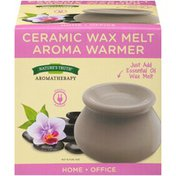 Nature's Truth Aromatherapy Ceramic Wax Melt Aroma Warmer
