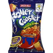 Jack 'n Jill Potato Rings, Roller Coaster, Cheddar Cheese
