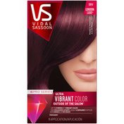 Vidal Sassoon Pro Series Vidal Sassoon Pro Series London Luxe Hair 3RV Magnetic Mahogany, 1 Kit Female Hair Color