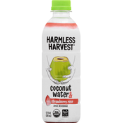 Harmless Harvest Juice Beverage, Coconut Water & a Hint of Strawberry Rose