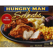 Hungry-Man Selects Classic Fried Chicken Frozen Dinner