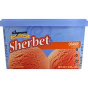 Wegmans Food You Feel Good About Sherbet, Orange Flavored