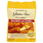 Russos Gluten Free Gourmet Mozzarella Sticks