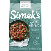 Simek's Meatballs, Turkey, Classic