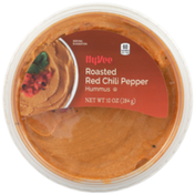 Hy-Vee Roasted Red Chili Pepper Hummus