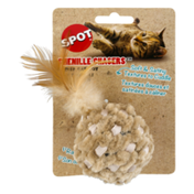 SPOT Chenille Chasers Catnip Cat Toy Ball