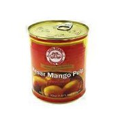 Hathi Brand Sweetened Kesar Mango Pulp