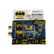 Bumkins Small DC Comics Batman Reusable Snack Bag Pack