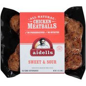 Aidells All Natural Teriyaki and Pineapple Chicken Meatballs