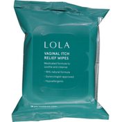 Lola Wipes, Vaginal Itch Relief