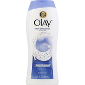 Olay Daily Exfoliating Body Wash With Sea Salts, Personal Cleansing