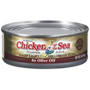 Chicken of the Sea Solid Light Yellowfin In Olive Oil Tuna