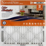 NaturalAire Air Cleaning Filter, Odor Eliminator with Baking Soda, 20 x 20 x 1