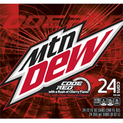 Mtn Dew Code Red Cherry Soda