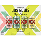 Dos Equis Beer, Lager Especial, Assorted, Variety Pack