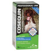 Cosequin Professional Line Joint Health Supplement Standard Strength Plus Boswellia & Hyaluronic Acid Chewable Tablets