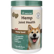 NaturVet Level 2 Hip & Joint Hemp Dog Supplement