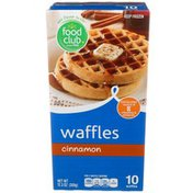 Food Club Cinnamon Waffles