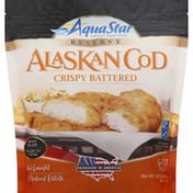Aqua Star Fillets, Alaskan Cod, Crispy Battered
