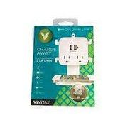 Vivitar Charging Station, USB